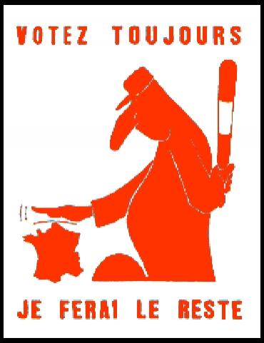 Винаги гласувайте, аз ще направя останалото